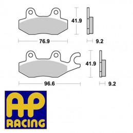 Plaquettes de frein AP RACING LMP288ST