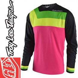 Maillot Troy Lee Designs GP PRISMA Pink 2018