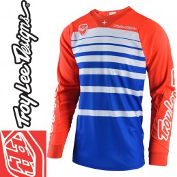Maillot Troy Lee Designs SE STREAMLINE Orange