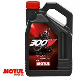 Huile moteur 4 temps MOTUL 300V Off Road 15W60