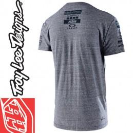 Tee shirt Troy Lee Designs KTM GoPro  Gris