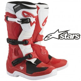 Bottes ALPINESTARS TECH 3 Red-White