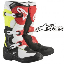 Bottes ALPINESTARS TECH 3 Black-Yelow-Red