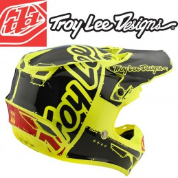 Casque enfant Troy Lee Designs SE4 2018 Factory Yellow
