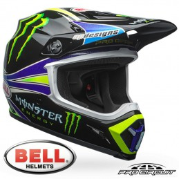 Casque BELL MX-9 MIPS Pro Circuit Replica 18.0