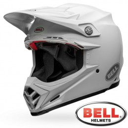 Casque BELL MOTO-9 FLEX White