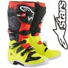 Bottes ALPINESTARS TECH 7 Yellow-Gray-Red flo