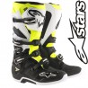Bottes ALPINESTARS TECH 7 Black/White/Yellow
