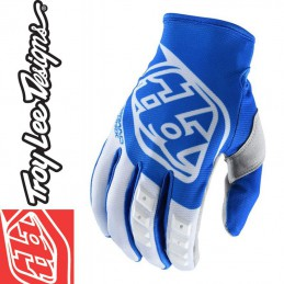 Gants Troy Lee Designs GP 2018 Blue-White