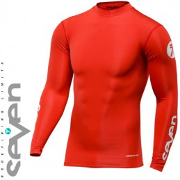 Maillot compression SEVEN MX ZERO Red
