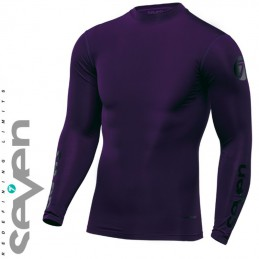 Maillot compression SEVEN MX ZERO Purple