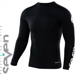 Maillot compression SEVEN MX ZERO Black
