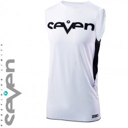 Maillot SEVEN MX ZERO STAPLE White