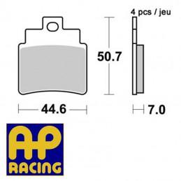 Plaquettes de frein AP RACING LMP375OR