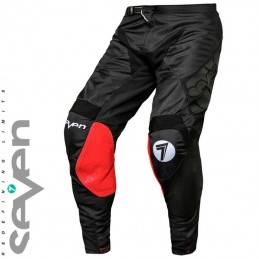 Pantalon SEVEN MX RIVAL Militant Black-red