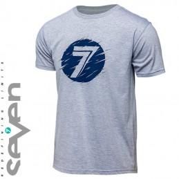 Tee shirt SEVEN MX DOT Heather grey