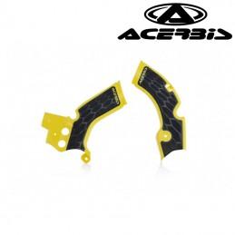 Protections de cadre ACERBIS X-GRIP 250 RMZ Jaune/Noir