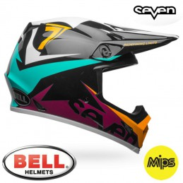 Casque BELL MX-9 MIPS SEVEN Ignite Aqua
