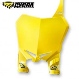 Plaque avant CYCRA STADIUM RMZ 450 Jaune