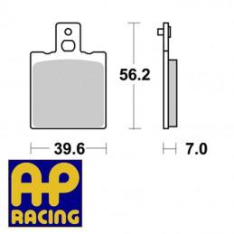 Plaquettes de frein AP RACING LMP119ST