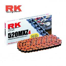 Chaine ultra renforcée RK 520 MXZ-4 Orange