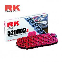 Chaine ultra renforcée RK 520 MXZ-4 Rouge