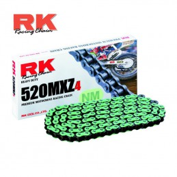 Chaine ultra renforcée RK 520 MXZ-4 Verte