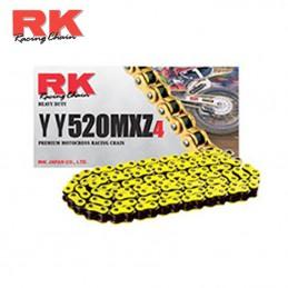 Chaine ultra renforcée RK 520 MXZ-4 Jaune