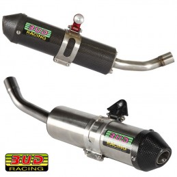 Silencieux carbone et inox BUD RACING 125 MC
