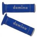 Poignées DOMINO Trial Bleu-Gris