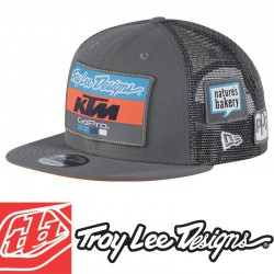 Casquette Troy Lee Designs KTM GoPro Gray 2018