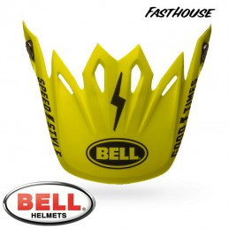 Visière BELL MOTO 9 FASTHOUSE Yellow/Black