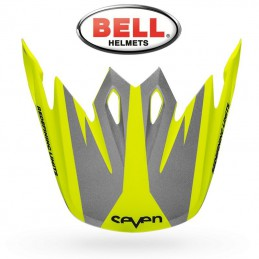 Visière BELL MX-9 SEVEN Ignite yellow