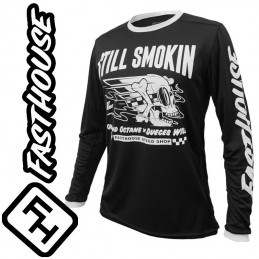 Maillot FASTHOUSE STILL SMOKIN Black