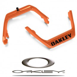 Support de bandeau OAKLEY AIRBRAKE Orange