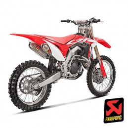 Ligne AKRAPOVIC EVOLUTION CRF 450 2017-2018
