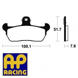 Plaquettes de frein AP RACING LMP241ST