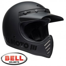 Casque BELL MOTO 3 Blackout
