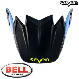 Visière BELL MOTO-9 SEVEN Flight Black/Blue