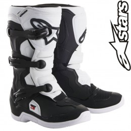 Bottes ALPINESTARS TECH 3S White-Black