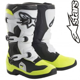 Bottes ALPINESTARS TECH 3S Black-Yellow flo