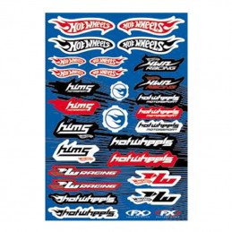 Planche de stickers FX HOT-WHEELS