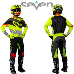 Tenue SEVEN ANNEX IGNITE black-yellow