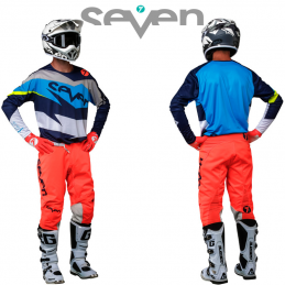 Tenue SEVEN ANNEX IGNITE navy-coral