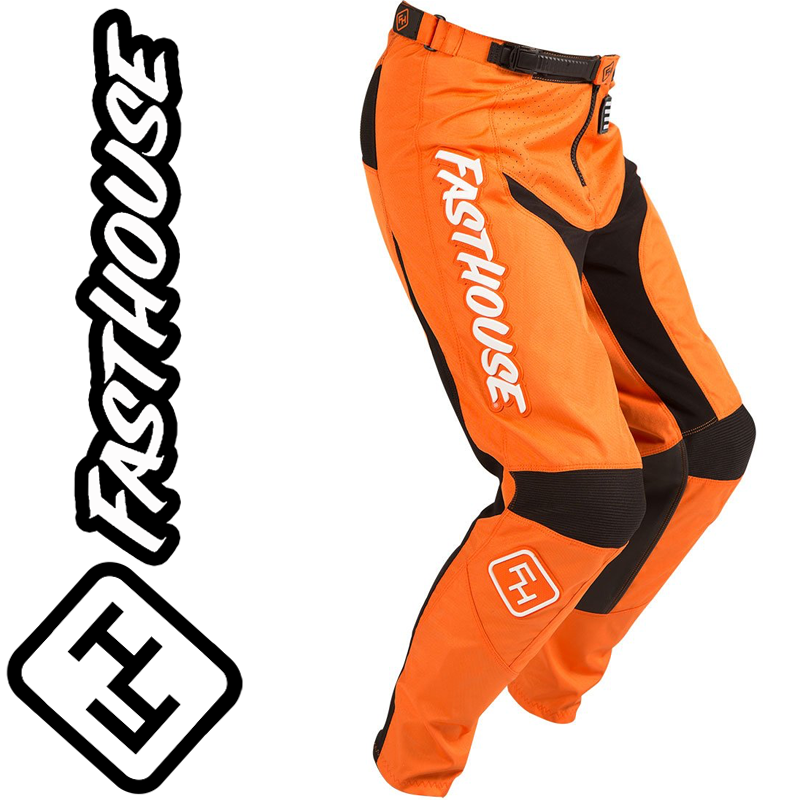 Pantalon FASTHOUSE GRINDHOUSE orange