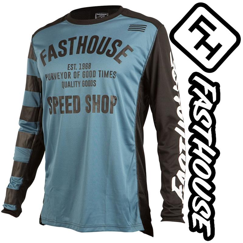 Maillot FASTHOUSE SPEEDSHOP blue slate