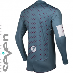 Maillot SEVEN RIVAL TROOPER Steel