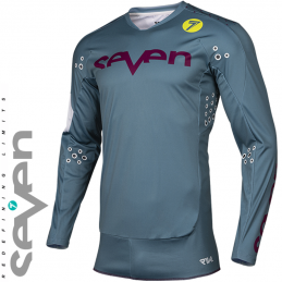 Maillot SEVEN MX RIVAL TROOPER Steel