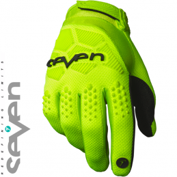 Gants SEVEN RIVAL Yellow flo