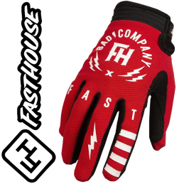 Gants FASHOUSE Speedstyle BadCo red